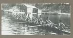 1915 Scotch College Rowing Crew Eight VIII Geoffrey Maxwell OSC1918 (stroke)