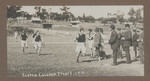 1918 Scotch College Sports Carnival featuring Geoffrey Maxwell OSC1918 winning running race