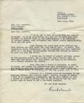 28.7.1955 Mrs Maxwell letter Tribute letter from the ABC Broadcasting Service