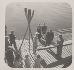 1956 Christening of the P. C. Anderson Rowing Boat at the Scotch College Boatshed Freshwater Bay
