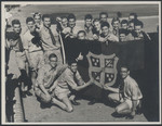 1956 Form 6A with Wesley College Flag
