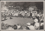 1956 Colin Hodgson OSC1955 playing at his sister Kates PLC school fete with dancers