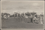1956 Scotch College Athletics Carnival featuring Grahame Kelly OSC1956 in running relay