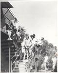 1981 Brisbane House on Stairwell