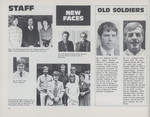 1981 Reporter: Staff, New Faces, Old Soldiers