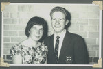 1959 Prefects Dance Karen Lankester (left) Lindsay Wilson OSC1960 (right) page 5A