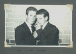 1959 Prefects Dance Lindsay Wilson OSC1960 (left) Eric Summers OSC1960 (right) at Memorial Hall